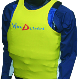 TANKTOP - Lycra JUNIOR WINDESIGN - żółta