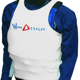 TANKTOP - Lycra JUNIOR WINDESIGN  - biała